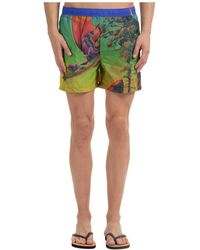 Valentino Trunks Swimsuit - Green