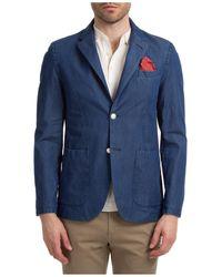 AT.P.CO Men's Jacket Blazer Noa - Blue