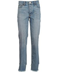 Tory Burch - Straight Fit Jeans - Lyst