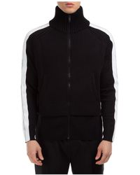 Givenchy Men's Jumper Jumper Pullover With Zip - Black