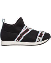 Fendi Girls Shoes Baby Child Trainers - Black