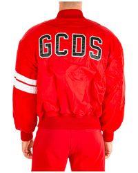 Gcds Men's Outerwear Jacket Blouson - Red