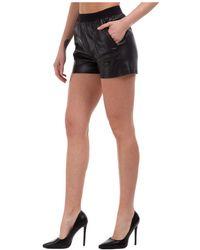 Karl Lagerfeld - Pantaloncini corti shorts donna bermuda rue st-guillaume - Lyst