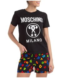 Moschino Milano Slim Fit T-shirt - Black