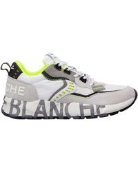 Voile Blanche Men's Shoes Suede Trainers Trainers Club01 - Grey