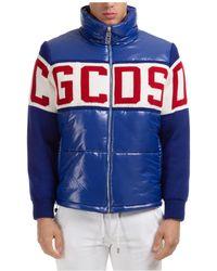 Gcds Outerwear Jacket Blouson - Blue