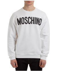 Moschino Men's Sweatshirt Sweat - White