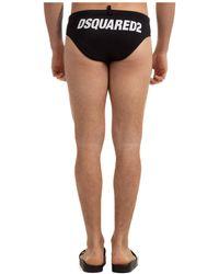 DSquared² Brief Swimsuit - Black