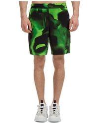McQ Men's Shorts Bermuda Fantasma - Green