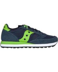 Saucony Men's Shoes Suede Sneakers Sneakers Jazz Original - Blue