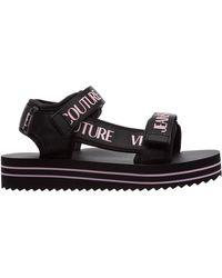 Versace Jeans Couture Sandali donna strappy - Nero