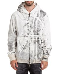 Gabriele Pasini Hoodie Sweatshirt Sweat - Grey