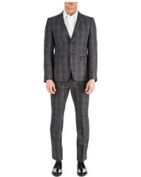 Emporio Armani Men's Suit - Gray