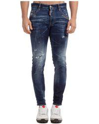 DSquared² Jeans uomo skater - Blu