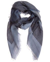 Emporio Armani Men's Foulard Scarf - Blue