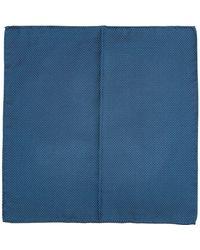 Emporio Armani Men's Pocket Square - Grey