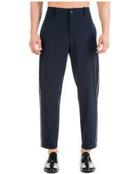 Emporio Armani Men's Trousers Trousers - Blue