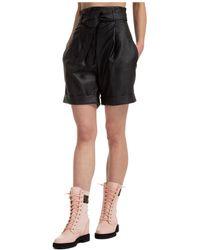 Philosophy Di Lorenzo Serafini Women's Shorts Summer Camille - Black