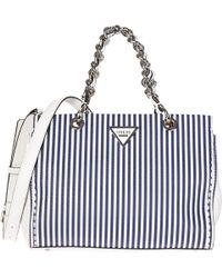 Guess - Handbag Cross-body Messenger Bag Purse Sawyer - Lyst