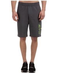 EA7 - Bermuda shorts pantaloncini uomo - Lyst