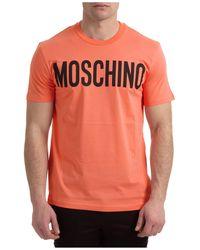Moschino T-shirt maglia maniche corte girocollo uomo - Multicolore