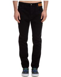 Palm Angels Men's Jeans Denim - Black