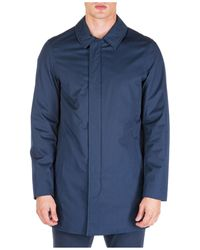 Michael Kors Men's Raincoat - Blue