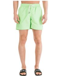 Ralph Lauren Men's Boxer Swimsuit Bathing Trunks Swimming Suit - Green