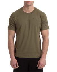 McQ Men's Short Sleeve T-shirt Crew Neckline Sweater - Green