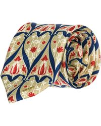 Prada Men's Silk Tie Necktie - Natural