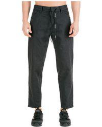 Emporio Armani Men's Jeans Denim Regular Fit - Black