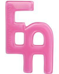 Emporio Armani Brooch - Pink