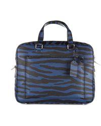 COACH - Briefcase Attaché Case Laptop Pc Bag Leather - Lyst