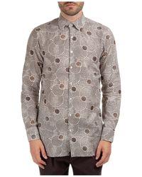 Gabriele Pasini Long Sleeve Shirt Dress Shirt - Multicolour