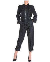 Stella McCartney Strap Details Jumpsuit - Black