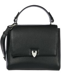 Philippe Model Women's Leather Shoulder Bag Petit Model - Black