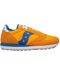 Saucony Men's Shoes Suede Trainers Trainers Jazz - Orange