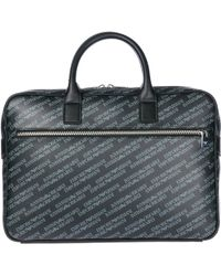 Emporio Armani - Briefcase Attaché Case Laptop Pc Bag - Lyst