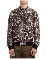 Les Hommes Men's Outerwear Jacket Blouson - Black