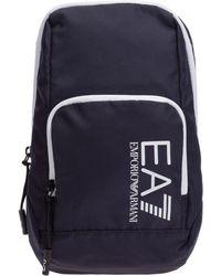 EA7 Men's Cross-body Messenger Shoulder Bag - Blue