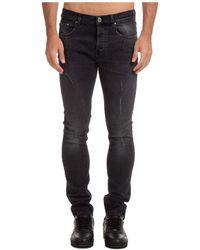 Les Hommes Men's Jeans Denim - Blue