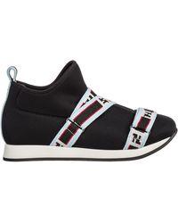 Fendi Girls Shoes Baby Child Sneakers - Black
