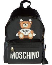 Moschino Zaino borsa donna roman'teddy bear - Nero