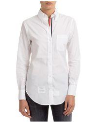 Thom Browne Women's Shirt Long Sleeve - White