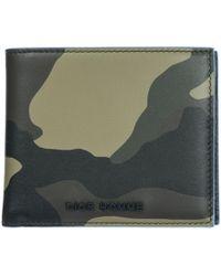 Dior Men's Wallet Genuine Leather Coin Case Holder Purse Card - Blue