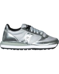 Saucony Women's Shoes Leather Trainers Trainers Jazz O - Metallic