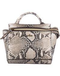 Hogan - Leather Handbag Shopping Bag Purse - Lyst