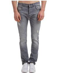 Les Hommes Men's Jeans Denim - Multicolour