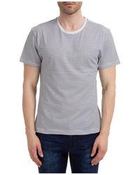 AT.P.CO Men's Short Sleeve T-shirt Crew Neckline Jumper - Grey