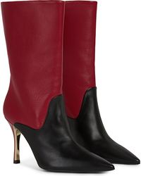 Furla High Boots - Red